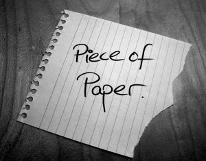 The power of paper
