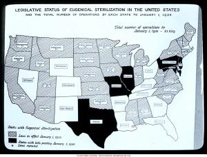 Eugenics Map