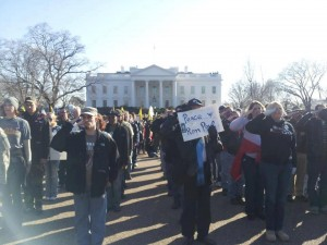 Salute at the March on the White House
