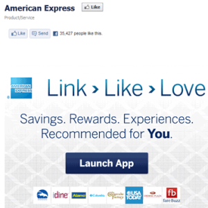 American Express - Link, Like, Love